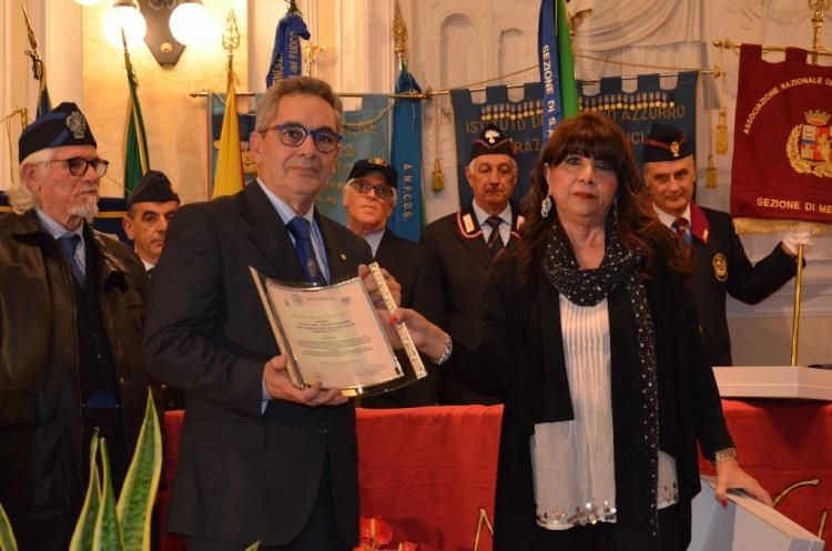 """Premio Speciale Orione 2016 - Istituto del """"Nastro Azzurro"""" fra i combattenti decorati al V.M."""