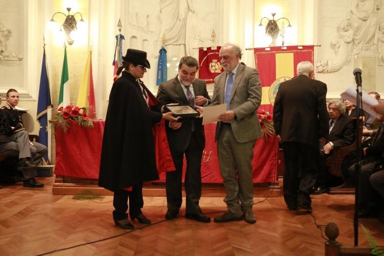 Premio Orione 2017 conferito al Dott. Salvo  Rotondo