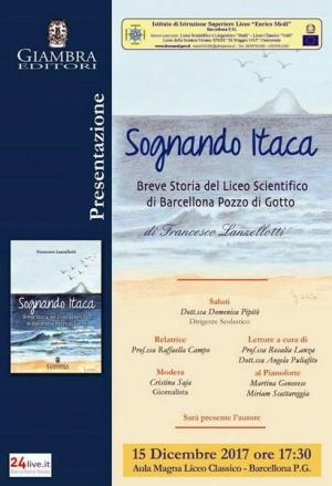Barcellona Pozzo di Gotto: sarà presentato il 15 dicembre il libro di Francesco Lanzellotti sul Liceo Scientifico