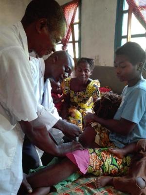 Centinaia i bambini nati e curati a Kpangi