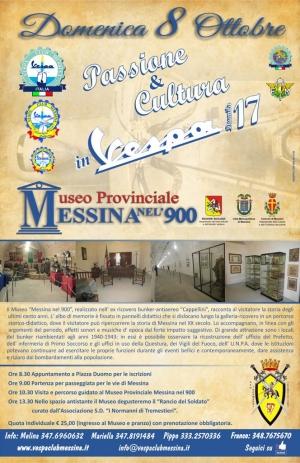 Domenica 8 ottobre Raduno Vespa club Messina presso il Museo del '900