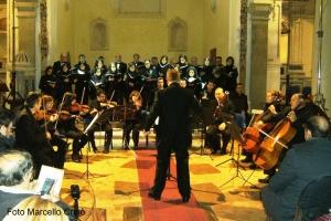 """La note del """"Te Deum"""" nell'Auditorium San Vito di Barcellona Pozzo di Gotto."""
