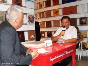 """Barcellona Pozzo di Gotto. Per """"Impronta d'autore"""" all'Epicentro di Gala incontro con Giuseppe Puliafito."""