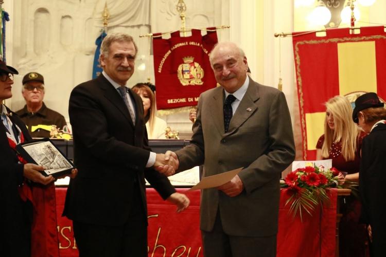 Premio Orione 2017 conferito al  Prof. Cosimo Inferrera.