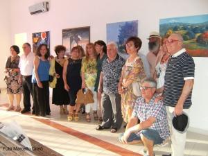 """Barcellona Pozzo di Gotto: la mostra di pittura della """"Filicusarte"""" all'ex Stazione ferroviaria"""
