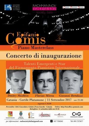 Lunedì 11 settembre ore 21 - Cortile PLATAMONE - Catania International Piano Stars