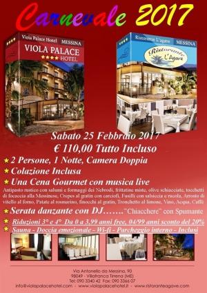 "Villafranca Tirrena(Me)  - ""Viola Palace Hotel"" - Carnevale 2017"