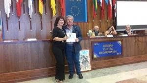 """Messina - Il poeta Giovanni Malambrì premiato al """"Memorial Gaetano Salvemini""""."""