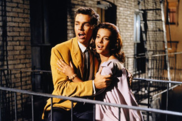 Natalie Wood e Richard Beymer nel film West Side Story