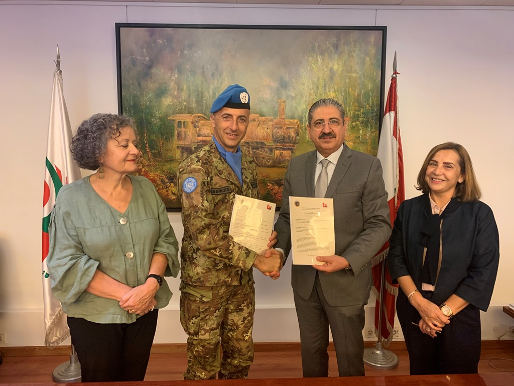 UNIFIL Siglato Accordo tra Universita di Beirut e Universita di Messina 2