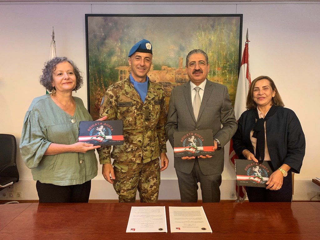 UNIFIL Siglato Accordo tra Universita di Beirut e Universita di Messina 3