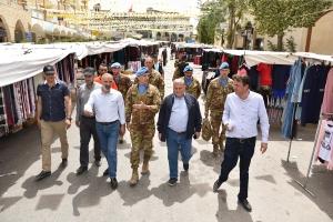 Market Walk: in Libano diventa una attività di pattugliamento.  I Caschi Blu Italiani in Libano sul concetto di Market Walk sviluppano il nuovo metodo del Pooled