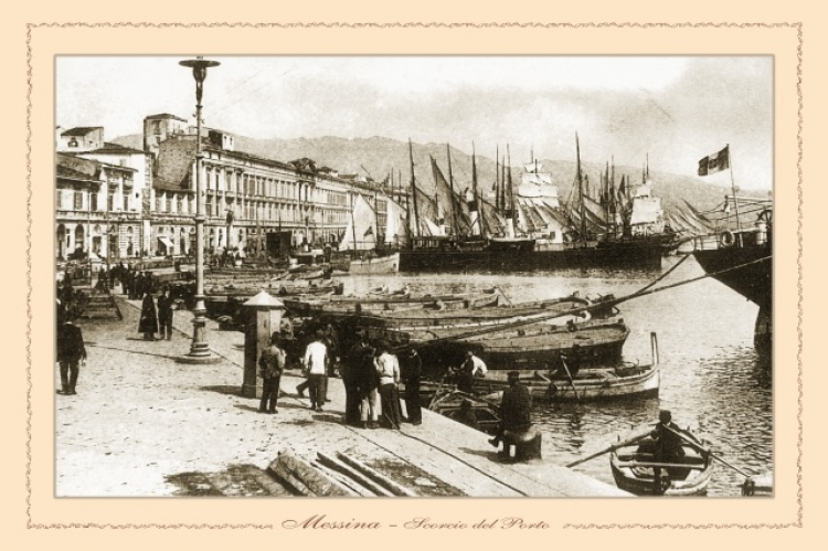 Messina - scorcio del Porto