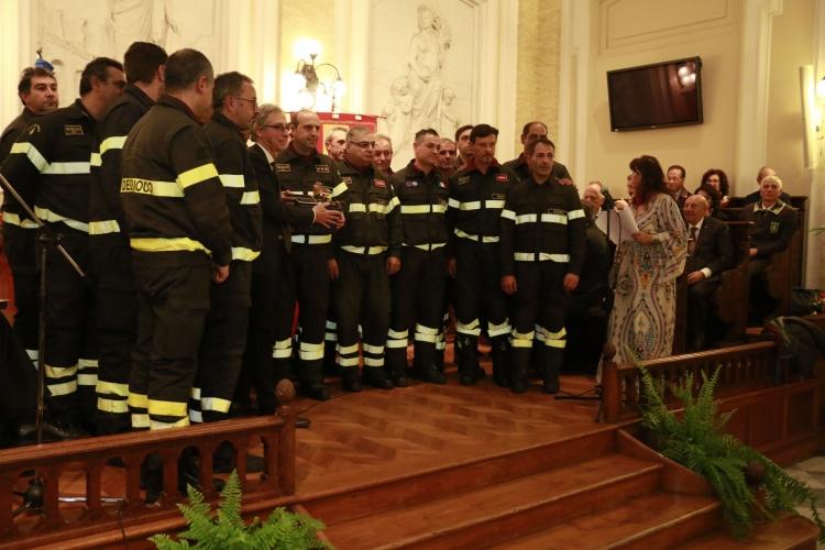 PREMIO ORIONE SPECIALE 2017 - Attestato di Benemerenza conferito alle Squadre del Comando Provinciale dei Vigili del Fuoco  di Messina  dirette   dall'Ing. Agostino Fama