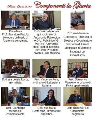 MESSINA - AL LAVORO LA COMMISSIONE PER L'ASSEGNAZIONE DEL PREMIO ORIONE 2018