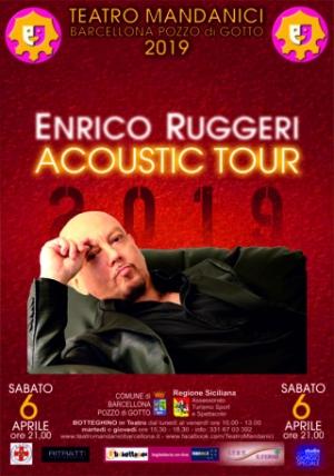 Barcellona Pozzo di Gotto: cresce l'attesa per Enrico Ruggeri, mentre al Mandanici si lavora per gli altri spettacoli