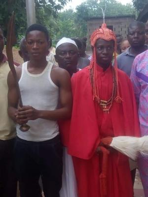 Re a 15 anni in Nigeria