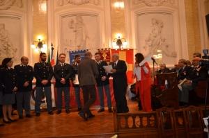 """Messina 6.12.2018 """"Premio Orione Speciale"""" Attestato di Benemerenza  conferito ai Componenti l' UFFICIO SERVIZI - Questura di Messina"""