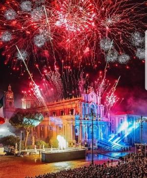 5 febbraio a Catania è  festa grande