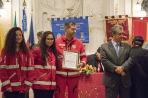 """Messina 6.12.2018 """"Premio Orione Speciale"""" conferito al Comitato della Croce Rossa Italiana di Messina"""