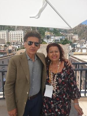 Ninni Bruschetta il noto  attore messinese Al  Taormina Film Fest