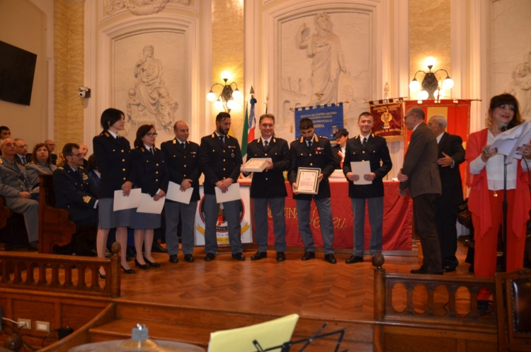 "Messina 6.12.2018 ""Premio Orione Speciale"" conferito all' UFFICIO SCORTE - Questura di Messina"