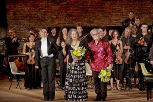 """Il concerto dei pianisti, Martha Argerich e Daniel Rivera,  apoteosi del quinto Festival internazionale della musica classica del """"Taormina opera stars"""""""