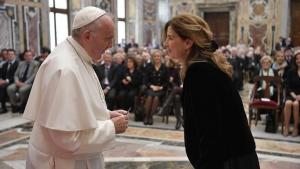 Trasmettiamo il discorso di Papa Francesco a noi giornalisti