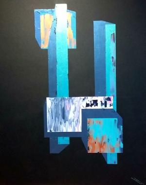 Jean-Pierre Jeanne a Parigi pittore francese presentato dal critico italiano Maria Teresa Prestigiacomo al Centro Culturale della Cina diretto da Ke Wen. Esperta di rigenerazione energetica aux Temps du corps