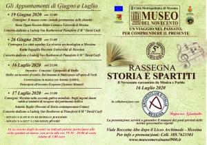 """Cari Amici del """"Museo del Novecento"""" Una settimana ricca di eventi al Museo con la nostra rassegna """" STORIA E SPARTITI """"."""