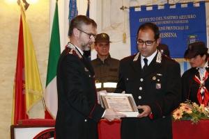 """Messina 6.12.2018 """"Premio Orione Speciale"""" conferito alla  COMPAGNIA CARABINIERI DI MESSINA SUD"""