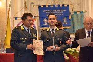 Premio Speciale Orione 2019 - Tenenza della Guardia di Finanza di Sant'Agata di Militello(Me) comandata dal Cap. Alessandro Arpaia