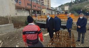 Dissesto idrogeologico: Messina, Musumeci visita cantiere sul torrente Cataratti-Bisconte