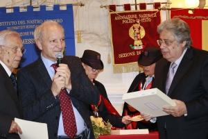 """Messina 6.12.2018 """"Premio Orione Speciale"""" conferito al Comando Provinciale dei Vigili del Fuoco di Messina"""