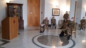 Il Comandante delle Forze Operative Sud dell'Esercito in Sicilia. Il generale di corpo d'armata Giuseppenicola Tota in visita istituzionale alle autorità e ai reparti di stanza nell'isola.