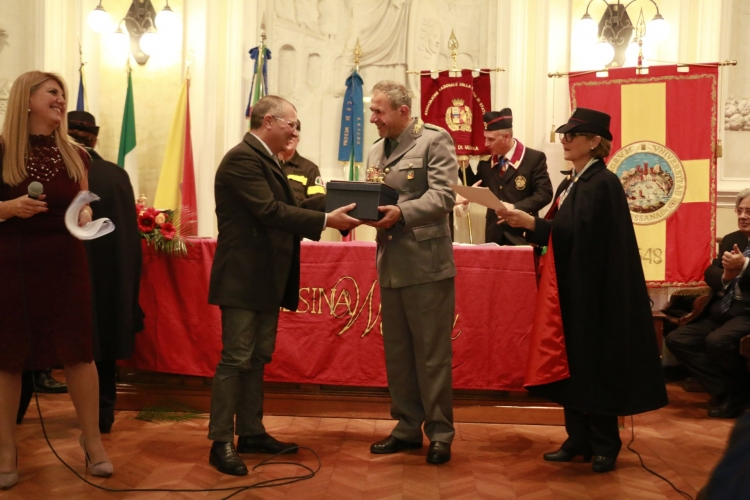PREMIO ORIONE SPECIALE 2017 conferito  al  Nucleo Operativo Provinciale dell'lspettorato Ripartimentale delle Foreste di Messina,  diretta dal Commissario Superiore forestale  Giovanni Giacoppo
