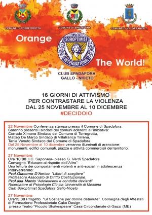 Interessante conferenza stampa al comune di Spadafora il 22 novembre contro la violenza sulle donne e per sostenere le donne detenute Progetto Soroptmist Club Spadafora Gallo-Niceto