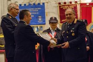 """Messina 6.12.2018 """"Premio Orione Speciale""""  conferito al DOTT. GIOVANNI RUGGERI SOSTITUTO COMMISSARIO  della Polizia Metropolitana di Messina"""