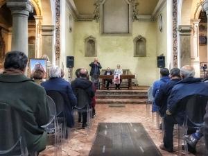 """Barcellona Pozzo di Gotto: il quadro """"Nigra Sun Sed Formosa"""" di Francesco De Francesco donato all'Oratorio delle Anime del Purgatorio"""