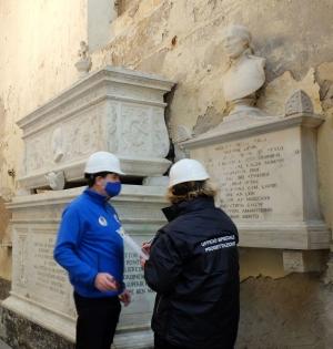 Palermo: si restaura la Cappella che accoglierà le spoglie dell'assessore Tusa