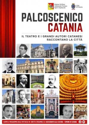 Verga e Mascagni a  'Palcoscenico Catania' con Guia Jelo e Gianfranco Pappalardo Fiumara