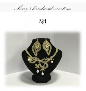 Premio a Bruxelles per Maria Greco per i bijoux al tombolo ed al chiacchierino