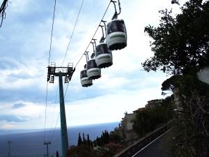 "Taormina ""riparte"" con la funivia"