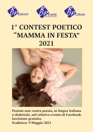 """UN GRANDISSIMO SUCCESSO PER IL 1° CONTEST POETICO """"MAMMA IN FESTA"""" 2021"""