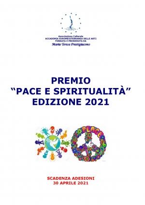PREMIO PACE E SPRITUALITA' 2021