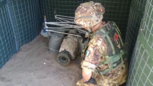 ESERCITO: DISINNESCATA UNA BOMBA DA 250 LIBBRE NEL CENTRO DI MESSINA.  Specializzazione degli ACRT del 4° Genio
