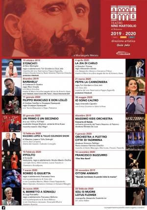 Presentazione stampa dellla stagione 2019 2020 del Teatro Nino Martoglio di Belpasso. Direttore artistico Guia Ielo