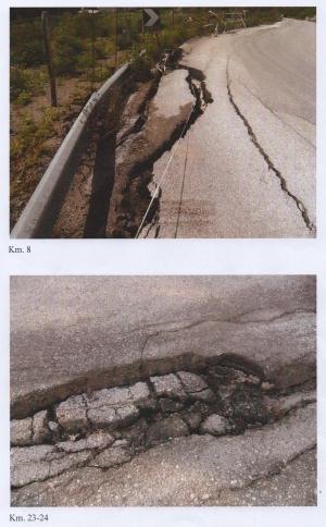 I docenti e il personale dell'Istituto scolastico di Capizzi segnalano alla Regione e alla Provincia le cattive condizioni della strada provinciale n. 168