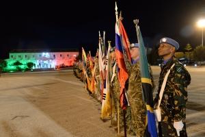 Passaggio di consegne tra i Caschi Blu della Brigata bersaglieri Garibaldi e la Brigata Aosta impiegati nella missione UNIFIL