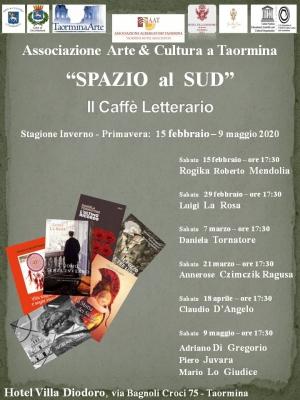 Interessante programma di Spazio al Sud A Taormina a partire dal 15 febbraio